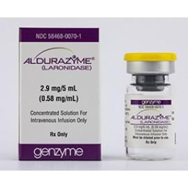 Изображение товара: Алдуразим Aldurazyme 100 U/ML 25 X5ML