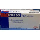 Блопресс (Кандезартанcилексетил) Blopress (Candesartancilexetil) 32 мг/28 таблеток