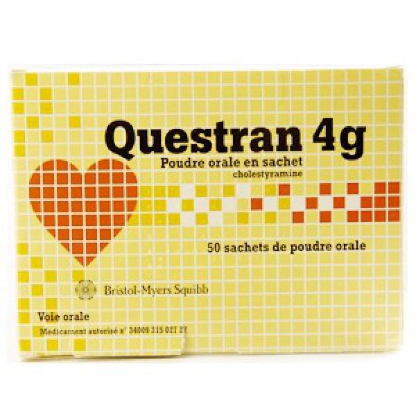 Квестран Questran 4g/ 100 пакетиков