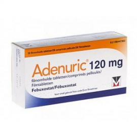 Изображение товара: Аденурик Adenuric 120 мг /84 таблеток