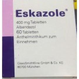 Изображение товара: Эсказол (Альбендазол) Eskazole 400 мг/60 таблеток