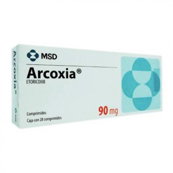 Аркоксиа Arcoxia 90 mg/100Шт