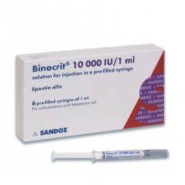 Изображение товара: Бинокрит Binocrit 10000I.E./6х1ML