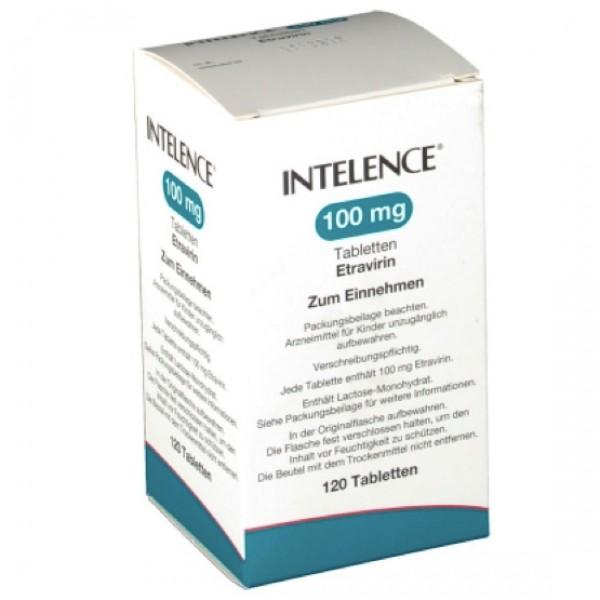 Интеленс Intelence 100MG/120 Шт
