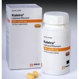 Изображение товара: Калетра Kaletra 200 mg/50 Mg/ 120 Шт