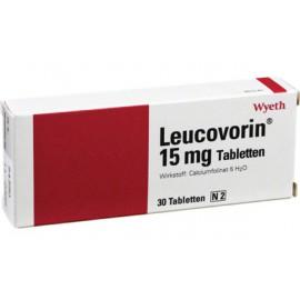 Изображение товара: Лейковорин Leucovorin 15 mg / 30 штук